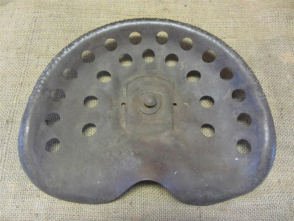 Old Tractor Seats : Rare vintage metal parlin orendorff tractor seat old