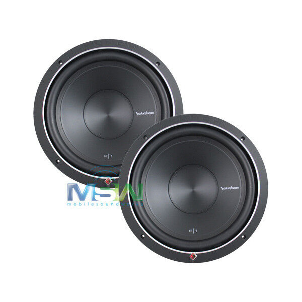 2 rockford fosgate p1s2 12 12 punch p1 2 ohm sub. Black Bedroom Furniture Sets. Home Design Ideas