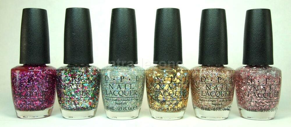 OPI Nail Polish Lacquer Spotlight on Glitter Collection ...