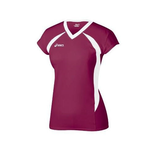 Asics Women's Setter Athletic Volleyball Jersey Shirt Top ...