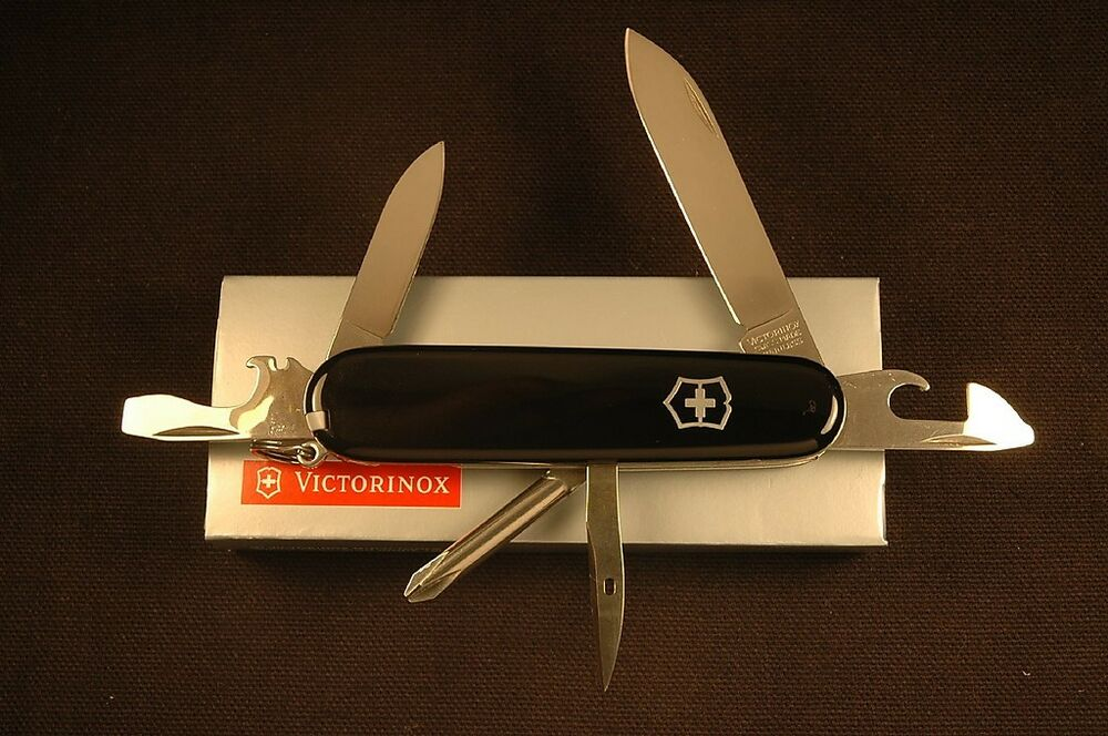 Victorinox Swiss Army Tinker Knife Black 53103 Ebay