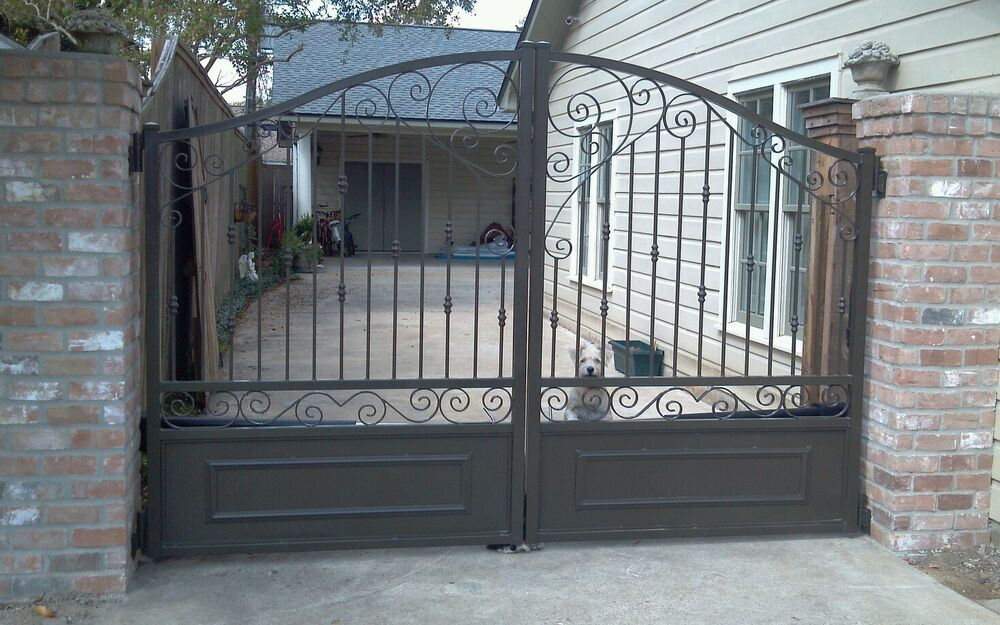 Custom wrought iron driveway estate gates ebay