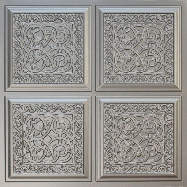 Decorative 24x24 Tin Like Ceiling Tile 231 Ebay