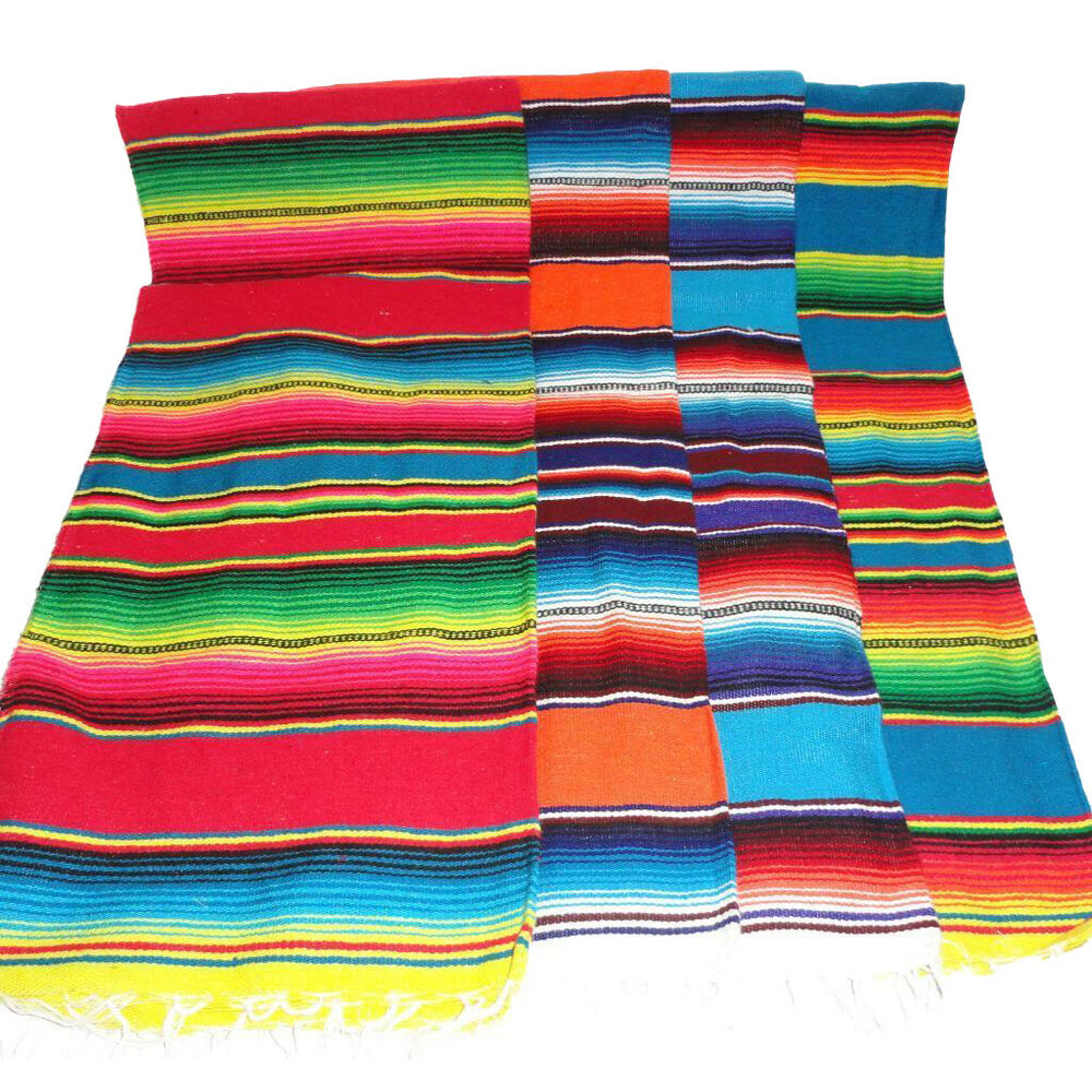 Mexican Rug Images: Sarape Serape Mexican Blanket Saltillo Southwestern 39 X