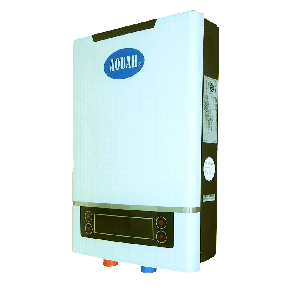 Aquah 18 Kw On Demand Electric Tankless Water Heater Ebay