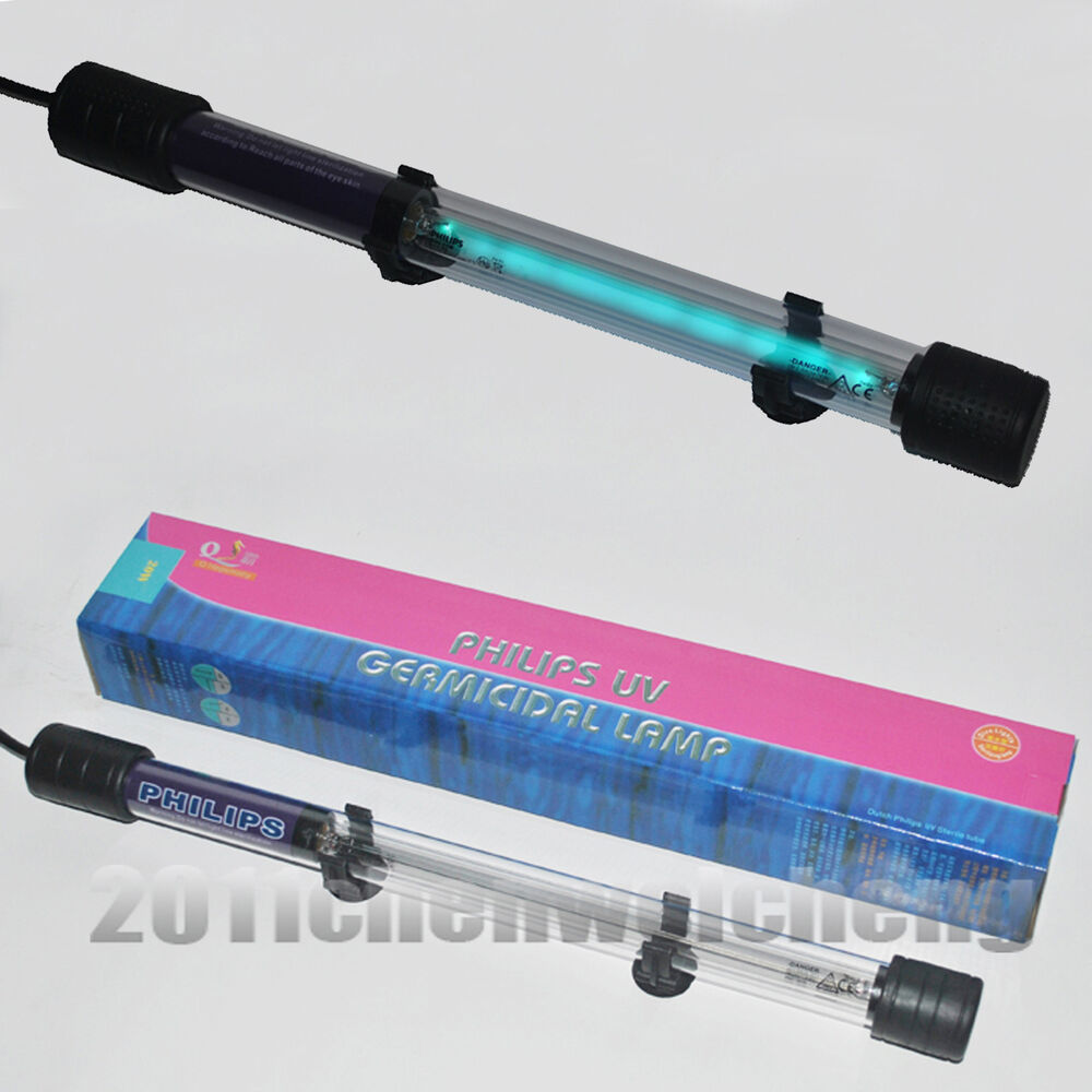 aquarium fish koi pond submersible uv sterilizer built in