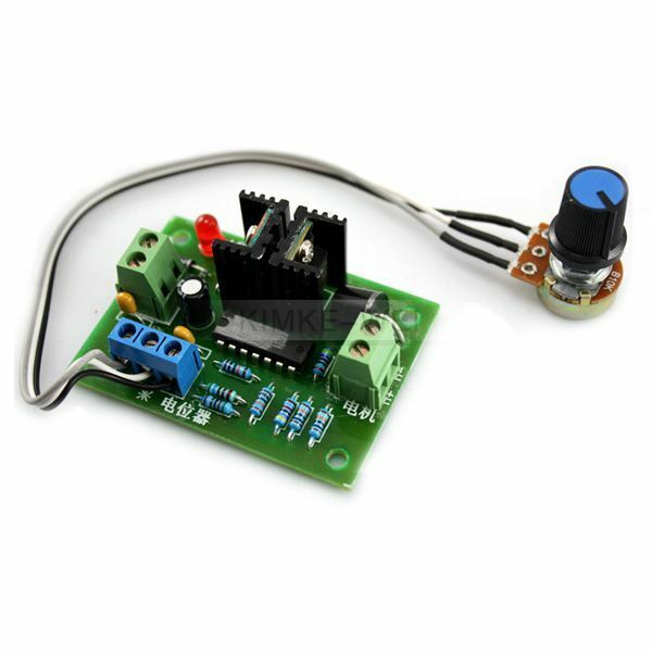 12v 24v 3a dc motor speed control pwm hho rc controller ebay for Motor speed control methods