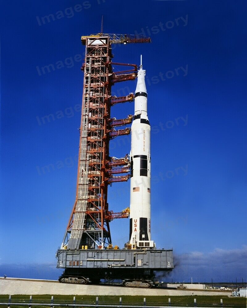 8x10 Print NASA Apollo 11 Crawler Heading to Pad 39A #987 ...
