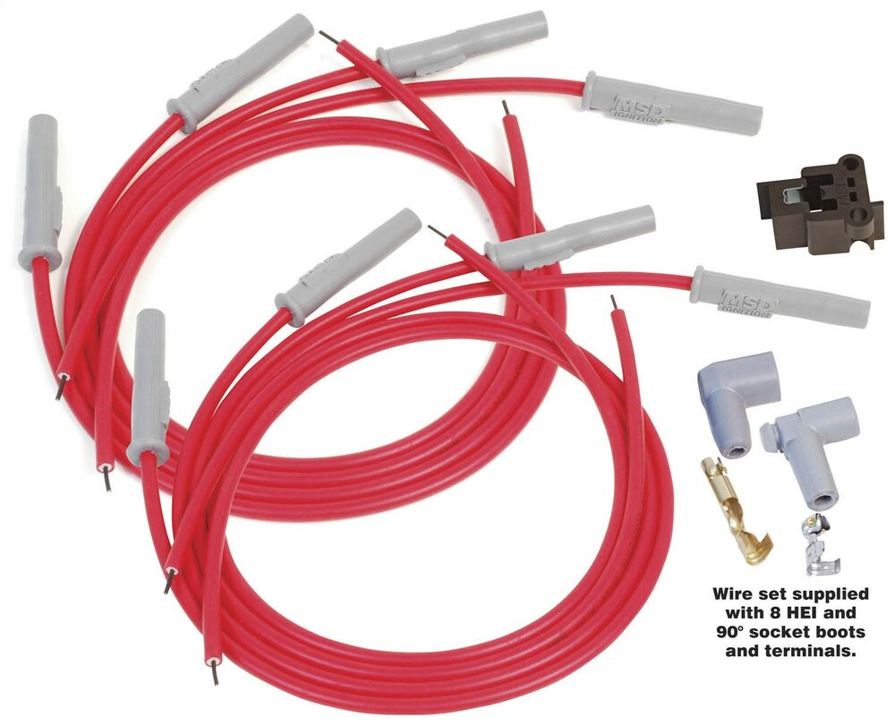 Msd Ignition 31199 Universal Spark Plug Wires 8