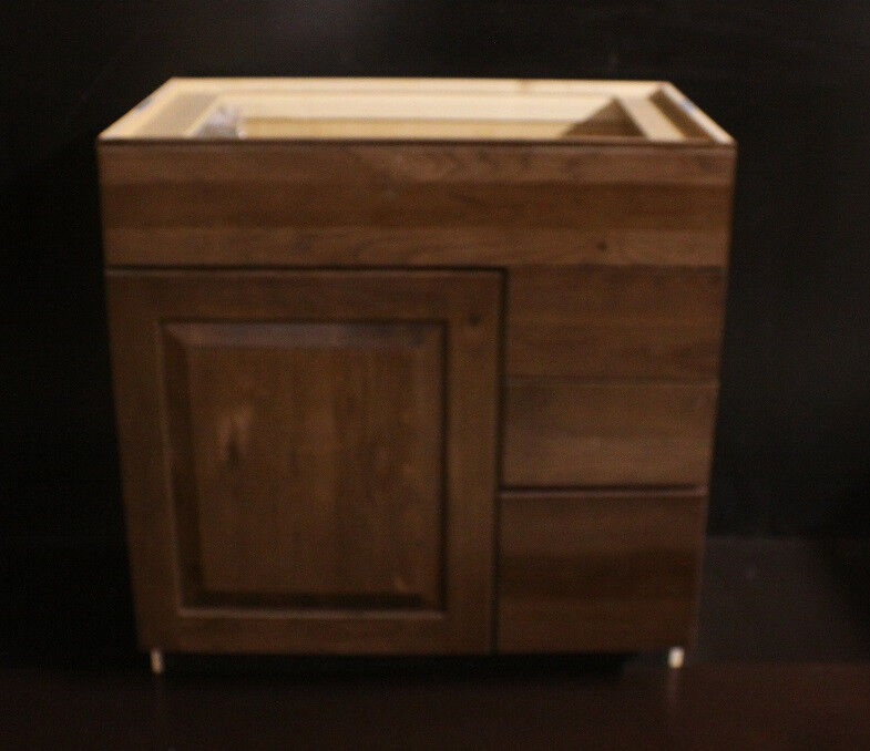 Kraftmaid hickory bathroom vanity sink base cabinet 33 Kraftmaid bathroom cabinets
