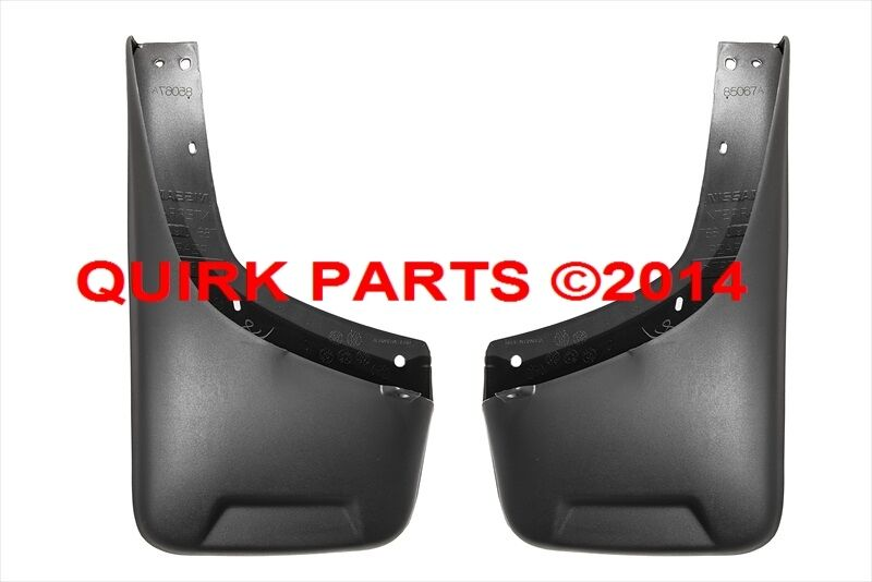2005 2014 nissan xterra rear mud flap splash guard oem new. Black Bedroom Furniture Sets. Home Design Ideas