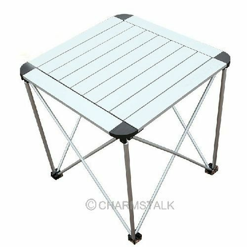 Outdoor Portable Garden Roll Up Folding Camping Picnic Dining Table
