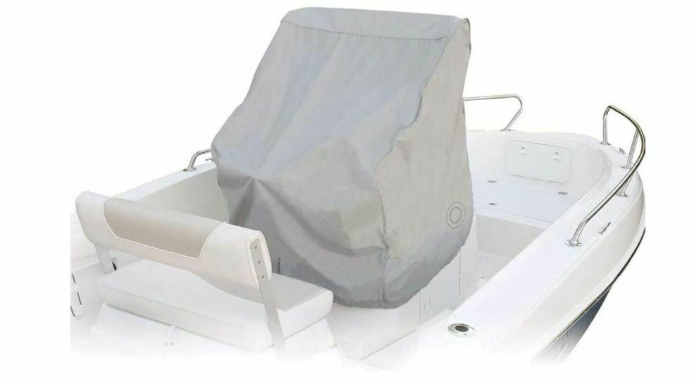 Small Boat Covers : Center console marine boat premium cover small grey ebay