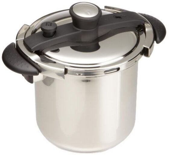 Concord qt stainless steel pressure cooker w ul safety