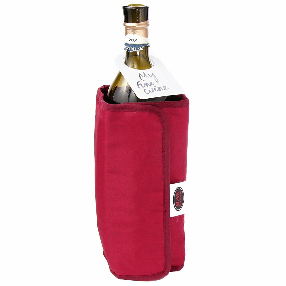 Dual Wrap Wine Bottle Chiller Cooler And Warmer For Red