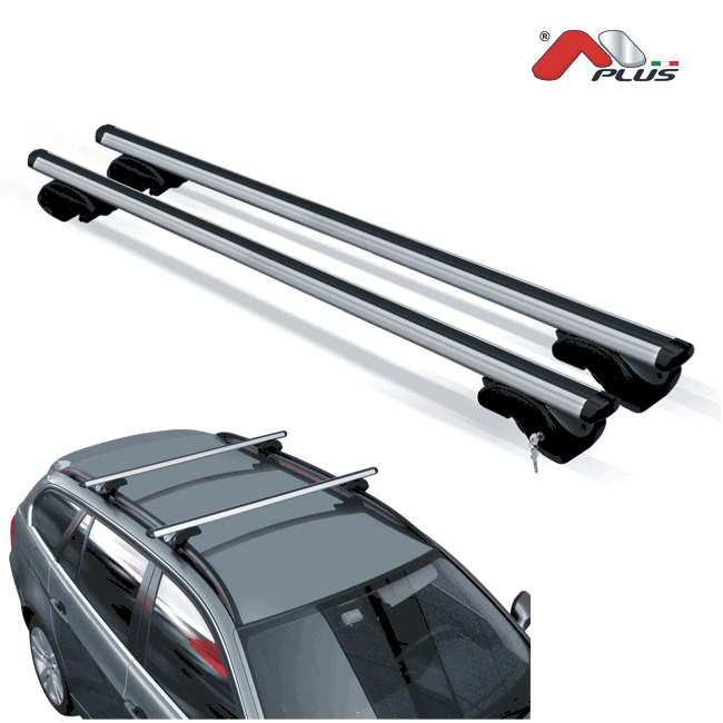 barres de toit aluminium citroen c3 picasso d s 2013 avec barres longitudinales ebay. Black Bedroom Furniture Sets. Home Design Ideas