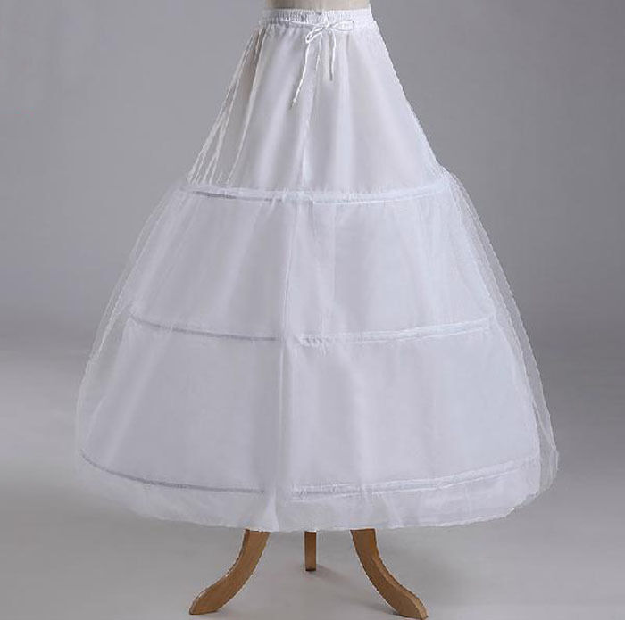 3 hoop 1 tulle petticoat bridal crinoline petticoat slips for Tulle petticoat for wedding dress