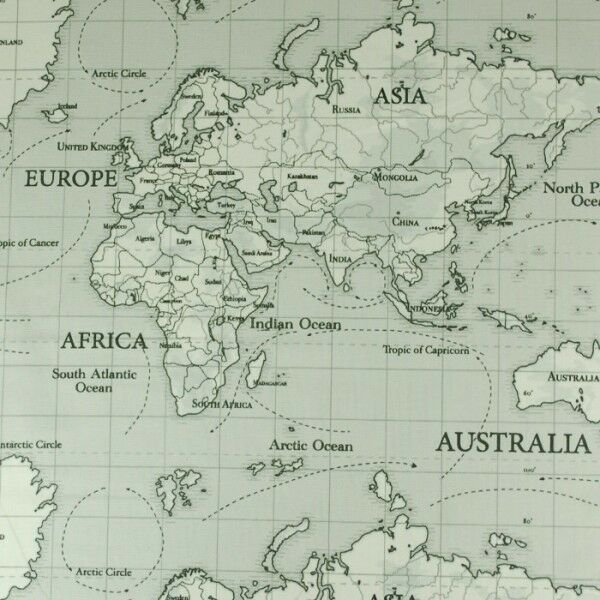 World map fabric aol image search results sciox Gallery