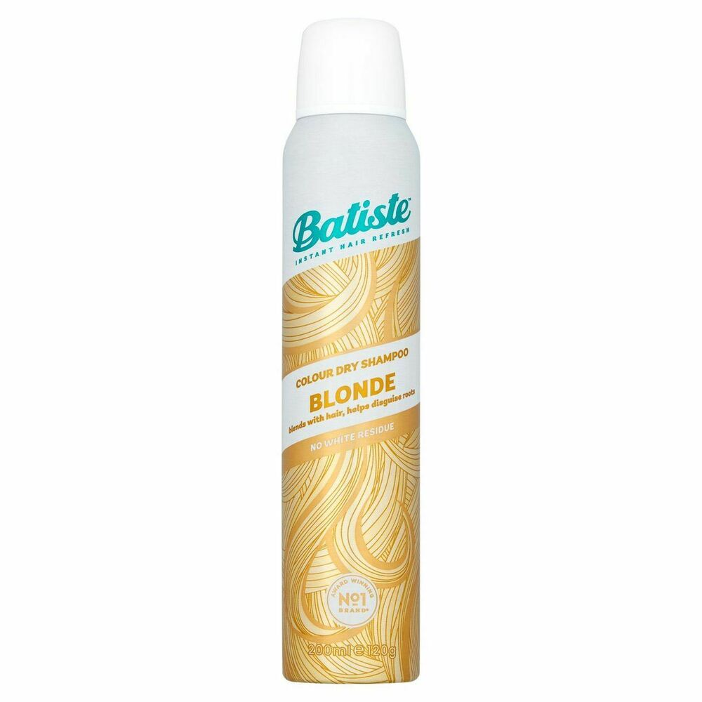 batiste dry shampoo brilliant blonde 200ml ebay. Black Bedroom Furniture Sets. Home Design Ideas