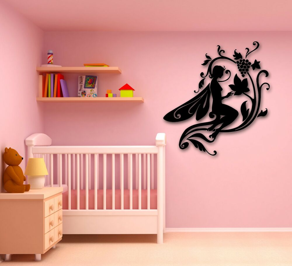 Wall Stickers Vinyl Decal Fairytale Fairy for Kids ...
