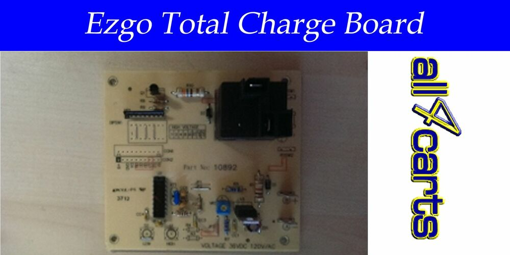 Ezgo Total Charge Golf Cart Charger Board