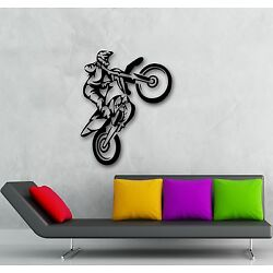 Wall Stickers Vinyl Decal Motorcycle Extreme Sports Race Coolest Stunt (ig665)