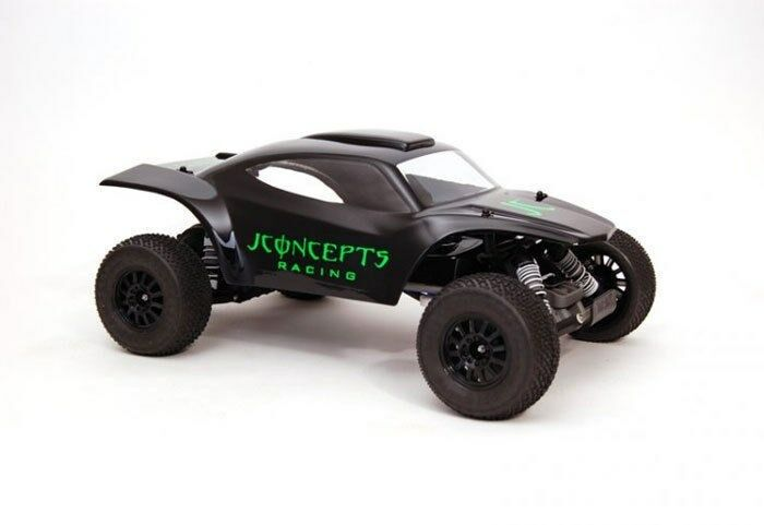 JConcepts 0080 Illuzion BAJR Desert Clear Body Traxxas