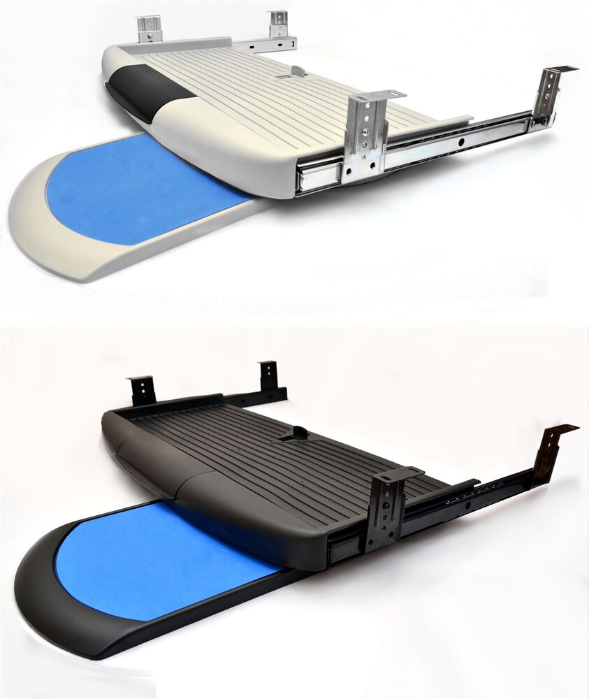 Under Desk Computer Keyboard Tray With Mouse Pad Shelf