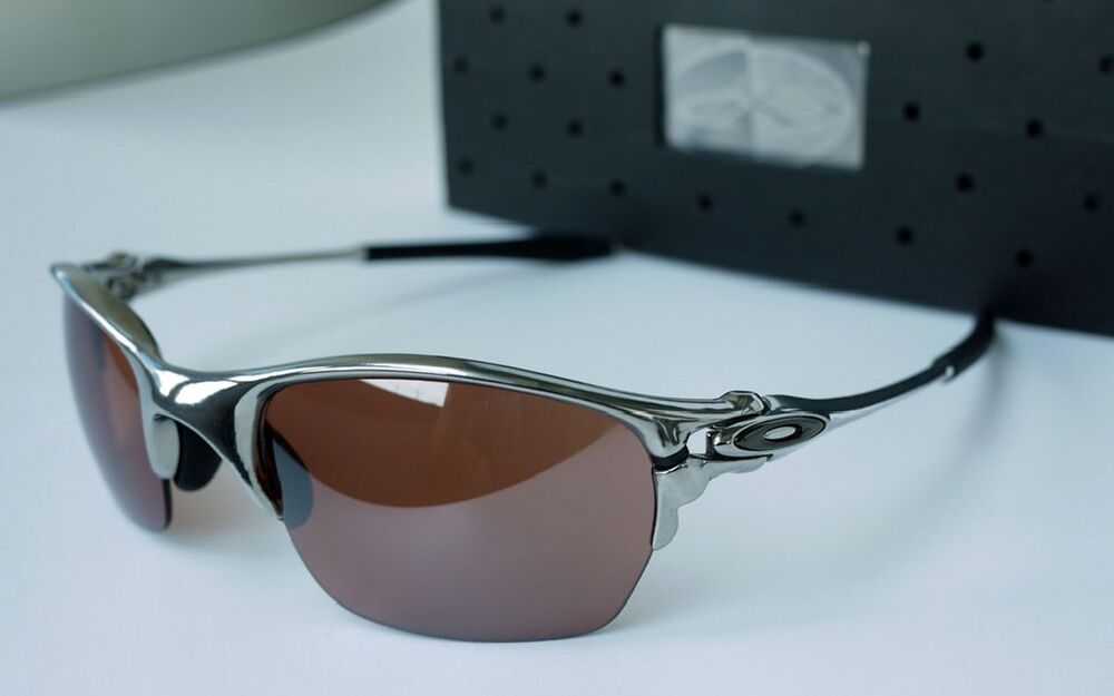oakley half x sunglasses  new oakley x metal half x sunglasses, polished / vr28 black iridium, 04 142