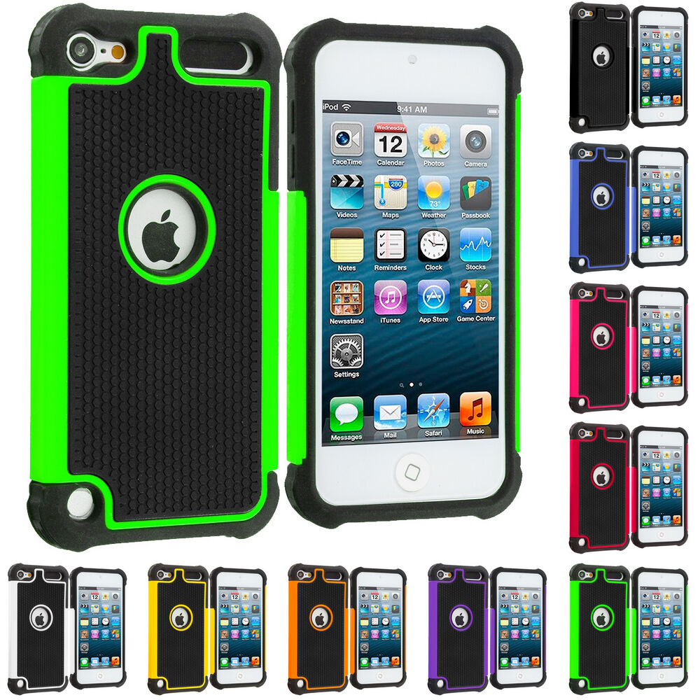 For Apple iPod Touch 5th Generation 5G 5 Hybrid Shockproof ...