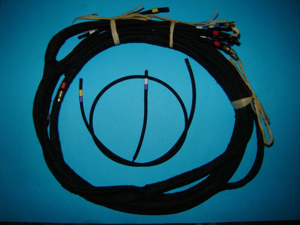 B.S.A. BSA 500cc WD M20 Side Valve Wiring Wire Loom Harness 1939 to ...