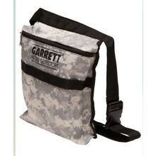 Garrett Camo Canvas Metal Detecting Finds Recovery Bag/Pouch + Belt, #1612900