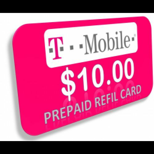 T-mobile $50 Prepaid Refill Card Monthly Plan / Pay As You Go No Annual Contract (Mail Delivery).
