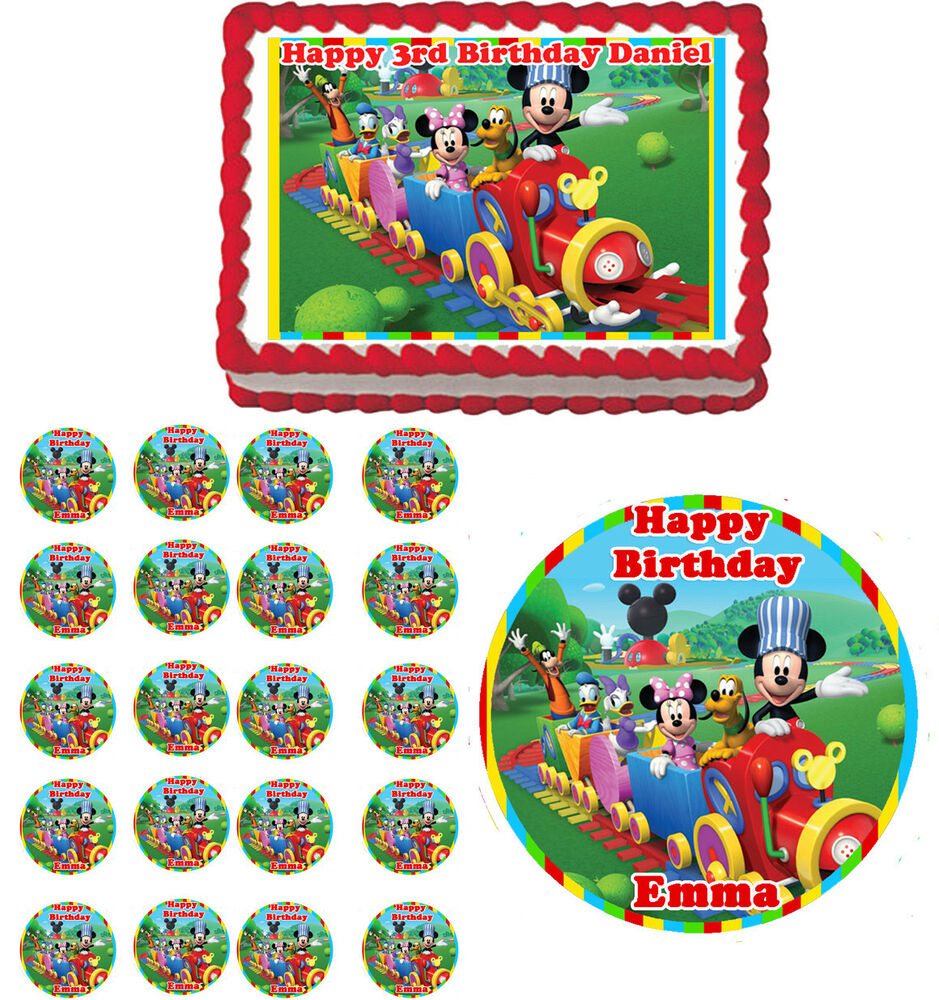 Edible Cake Decorations Mickey Mouse