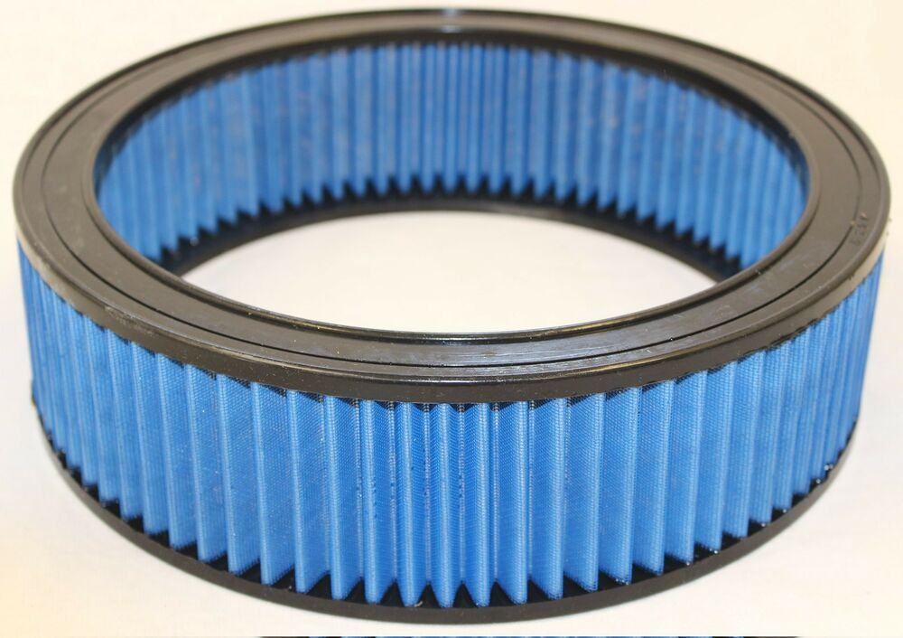 Round Air Filter Paper : Kool blue kr round lifetime washable high flow air