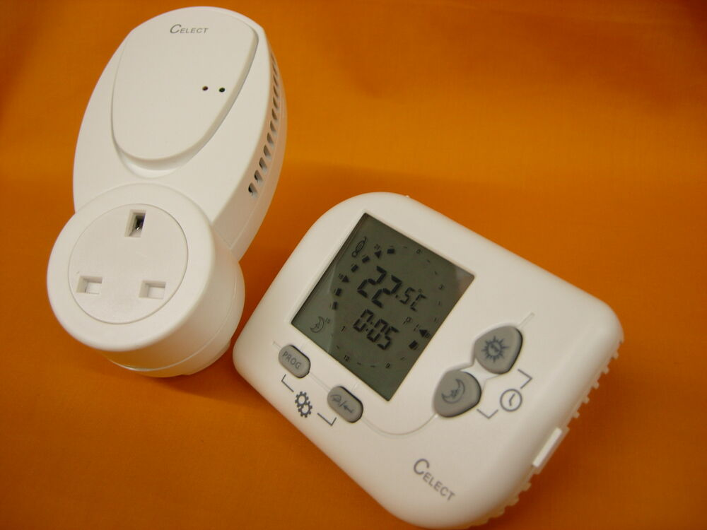 Celect Programmable Rf 868mhz Wireless Room Thermostat