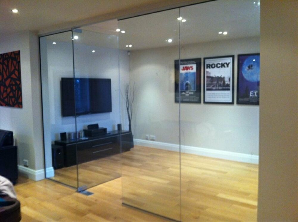 10mm Toughened Glass Panels Glass Partitions 14 Sizes 2000