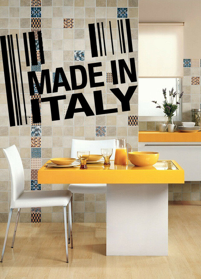 Restaurant italian food business pizza store wall art