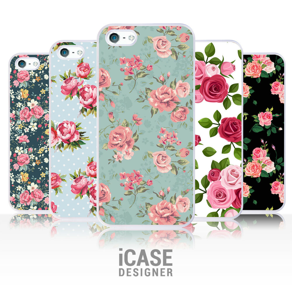 floral rose flower vintage shabby chic phone case for. Black Bedroom Furniture Sets. Home Design Ideas