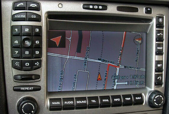 porsche oem 997 911 2005 2009 gps navigation retrofit kit. Black Bedroom Furniture Sets. Home Design Ideas