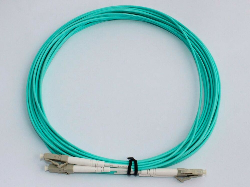 20m Lc Lc Duplex 10 Gigabit 50 125 Multimode Fiber Optic