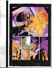 Original 1997 Marvel Comics X-Man 25 color guide art page 35:1990's X-Men mutant