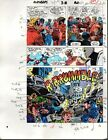 1989 Avengers 312 page 27 Marvel Comics color guide art: 1980's Captain America