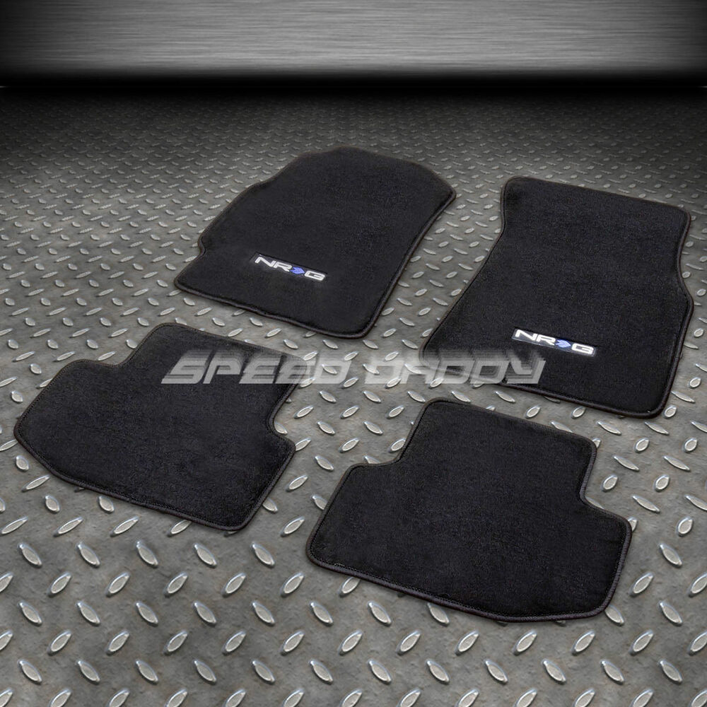 FOR 94-01 ACURA INTEGRA LS/GS/RS/GSR NYLON BLACK FLOOR