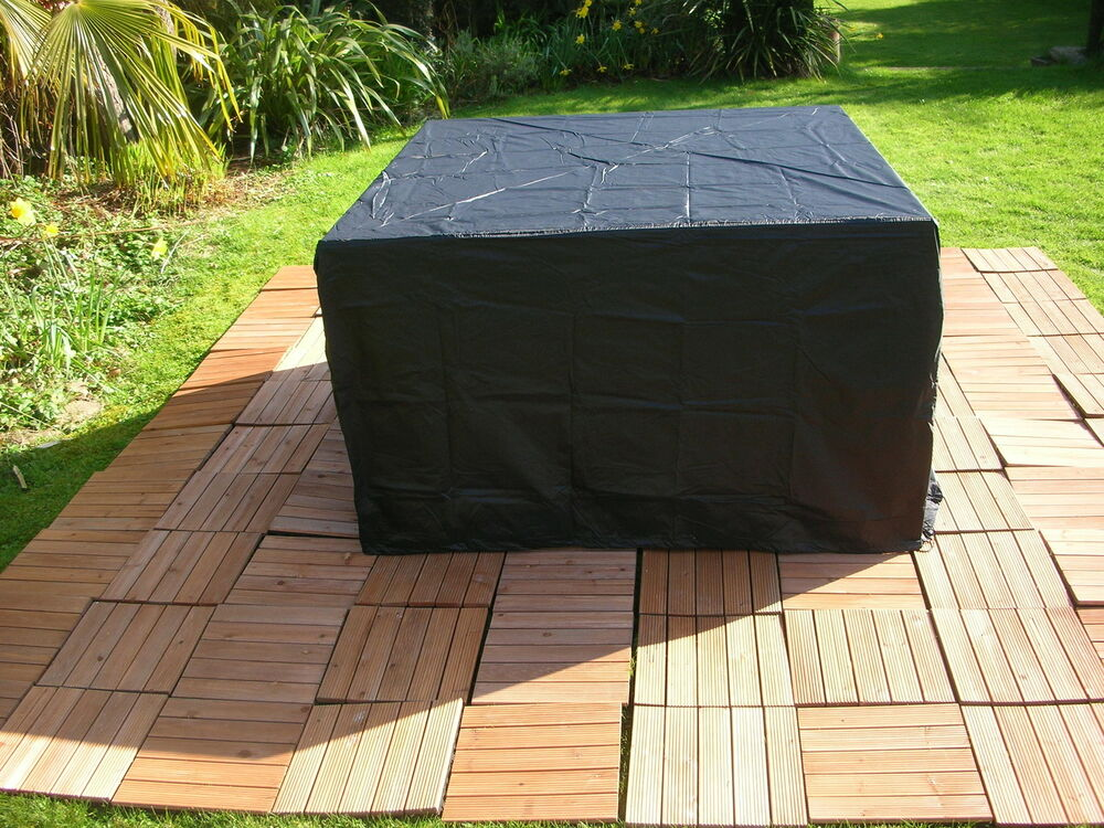 COVER COVERS FURNITURE RATTAN WICKER COVER PROTECTION SET ...