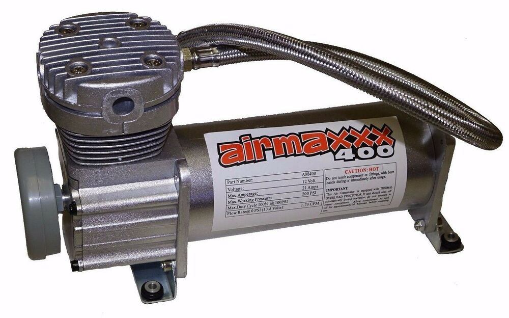 air compressor for air bag suspension system airmaxxx 400