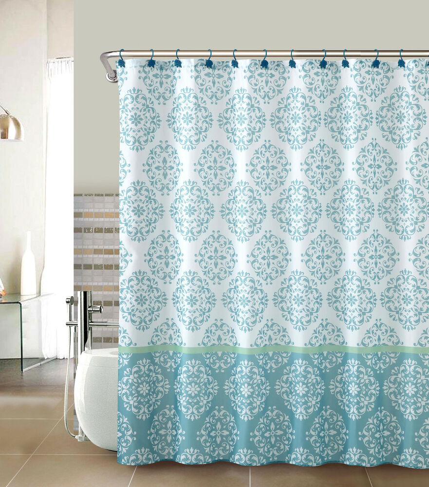 Ashur fabric shower curtain by goodgram 174 available in 2 colors