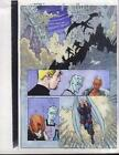X-Men/Havok Marvel Comics color guide art:Mutant X 12 page 23:Iceman/Storm/Angel