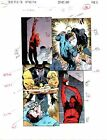 1996 Daredevil 357 page 16 Marvel Comic Universe colorist color guide art:1990's