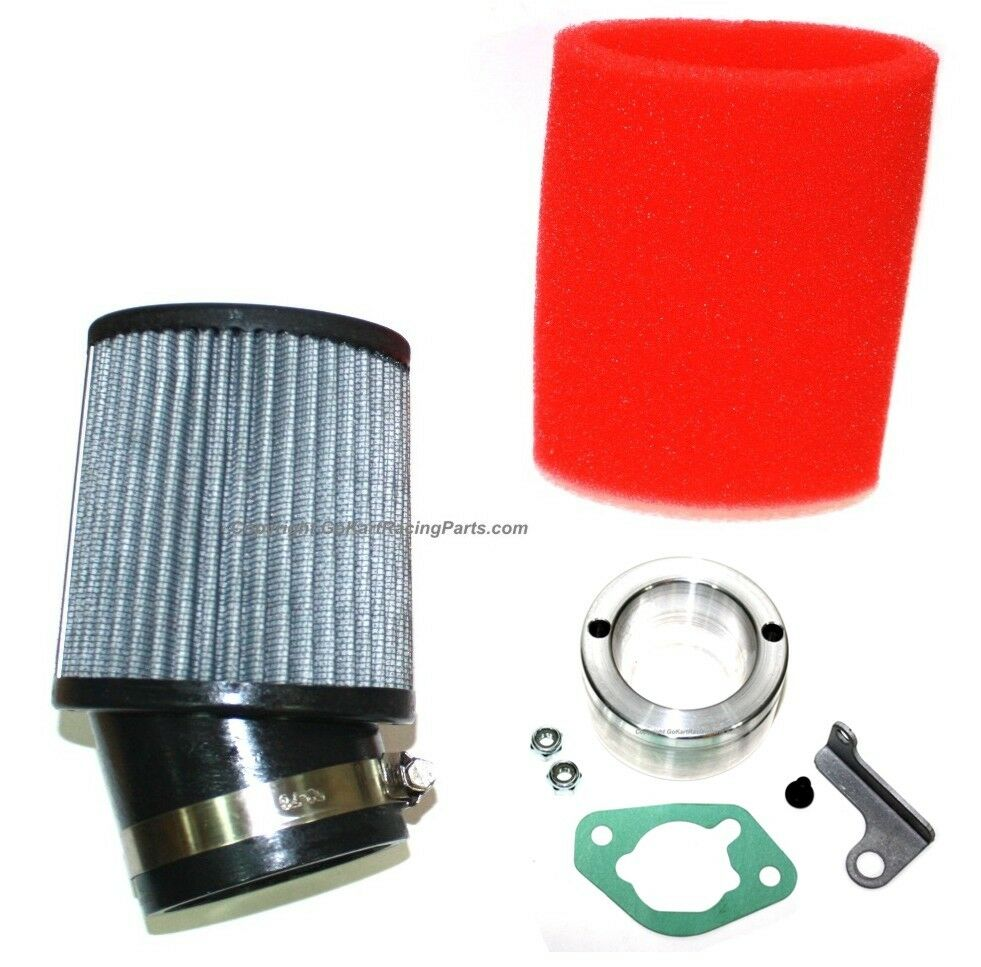 Honda gx340 gx390 clone engine carb air filter adapter kit for Kit filtration